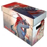 Comic Book Cardboard Storage Box with Red Sonja Artwork, holds 150-175 Comics